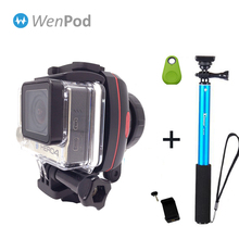 In Stock! WenPod X1 Official Sport X1 Wearable for GoPro 3/3+/4 5 and SmartPhone Gimbal Action Camera Stabilizer Free Shipping