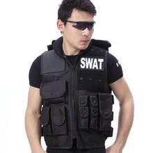 Airsoft Tactical Vest Swat Type Modular Tactical Combat Vest Military Tactical Gear CS Field Equipment Swat Protective Equipment(China)