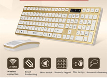 MAORONG TRADING Wireless Keyboard and Mouse combo for all in one desktop laptop with handwriting mouse Russian can be added