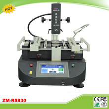 EU free tax ZhuoMao ZM-R5830 3 Temperature Zones Hot air BGA Rework Station with touch screen control panel(China)