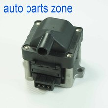 MH ELECTRONIC NEW Ignition Coil 6N0905104 For VW Golf Passat Fox AUDI 80 90 1.8L 2.0L 2.5L 2.8 High Quality(China)