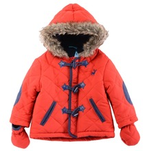 2017 New England Style Autumn Winter Baby Boys Quilted Jacket With Hooded G8155&G8966, Sold By JD China Offical Store(China)