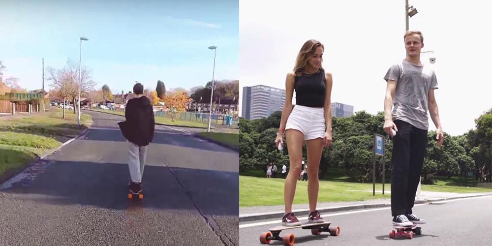 cool life electric skateboard