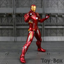 Captain America Civil Clint Iron Man Tony Stark Cartoon Toy PVC Action Figure Model Gift