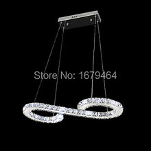 K9 Crystal Bulb Included Led Pendant, Minimalist Modern Metal Plating Free Shipping(China)