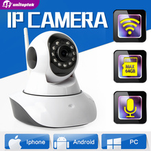 1.0MP Wireless IP Camera WIFI IR-Cut Night Vision Two Way Audio HD 720P PTZ CCTV Surveillance Camera IP  XMEye Indoor UNITOPTEK