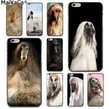 Чехол для телефона MaiYaCa Animal long Hair Dog Afghan Hound для iphone SE 2020 11 pro 8 7 66S Plus X 5S SE XS XR XS MAX(China)
