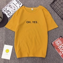 Buy 10 Colors Plus Size 3XL 2018 Summer Simple Women T-shirts Letters Printed Short Sleeve O-neck All-match Women T Shirt Tops for $7.29 in AliExpress store