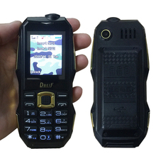 Supper mini pocket small rugged torch 3.5 headphone jack mobile cell phone P051(China)