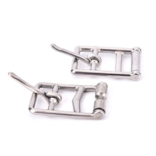 High Quality 1 PCS Stainless steel cinch buckle horse rug fittings leather buckle saddlery buckle Outdoors(China)