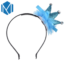 Buy M MISM Children lovely Tiara Hair Band High Crown Hair Hoop Accessories Kids Girls Fashion Princess Bowknot Headband for $1.37 in AliExpress store