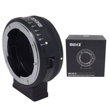 Meike MK-NF-E Mount Adapter Ring Nikon F-mount Lens Sony Mirrorless E-mount Camera Tripod Threaded Holes - Venidice Photography Store store