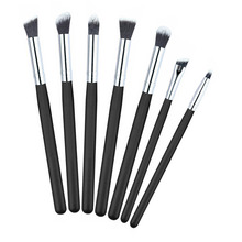 7pcs set Eyeshadow Makeup Brushes Set maquiagem Pro Eye Shadow Eyeliner Eyebrow brushes Lips Nose Makeup