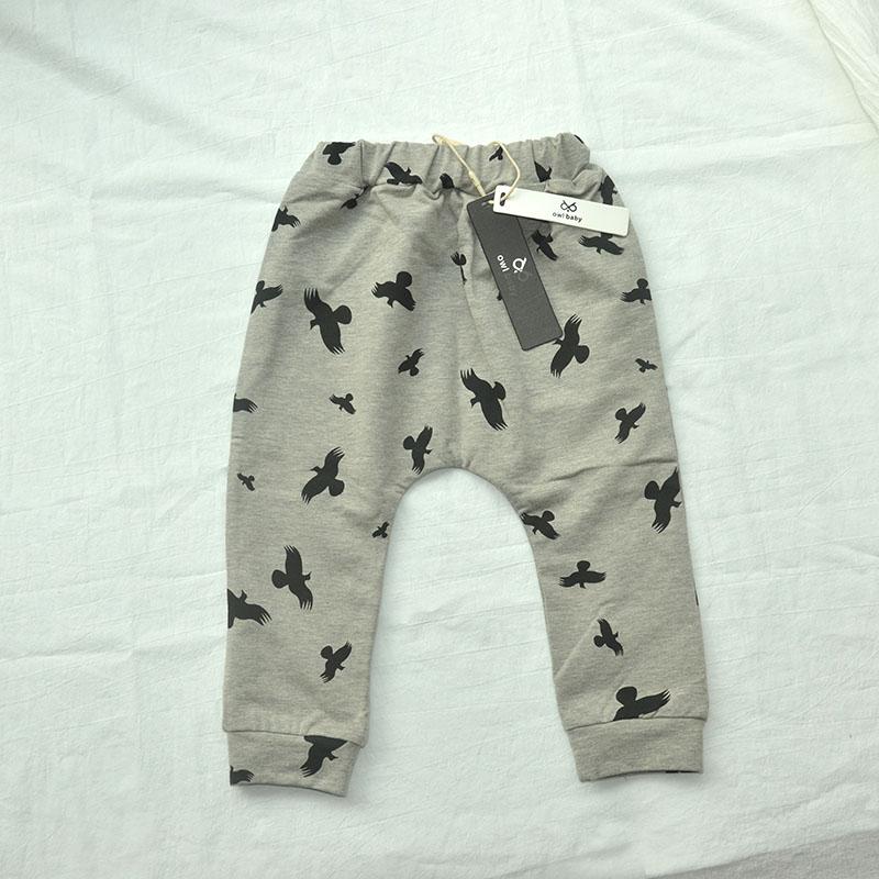 Clearance 11.11 Sale Boys Pants Print Cotton Trousers Girls Leggings Children Clothes3