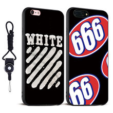 Trend brand SUP off white Logo Style Coque Mobile Phone Case Cover For Apple iPhone 5 5S SE 6 6S 6Plus 6sPlus 7 7Plus 8 8Plus X