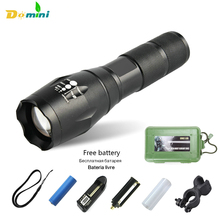 Self-defence Led Flashlight 18650 Lantern x900 Lanterna Tactical Zoom Penlight Cree Led Flashlights With 18650 Battery Torch New
