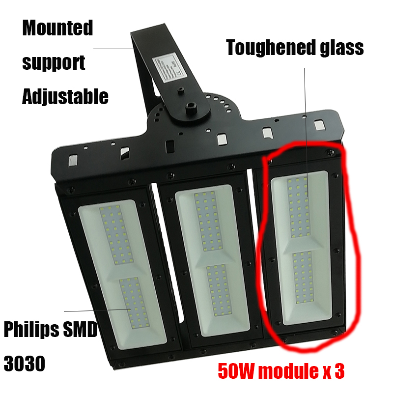 150w led flood light (module)