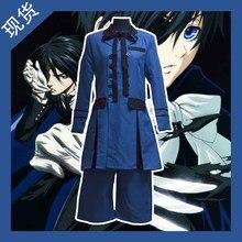 Anime cosplay Butler negro Ciel Phantomhive Halloween partido Unisex Daily  cosplay uniforme 1629f5334daf