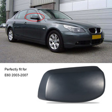 Car Styling Right Rearview Mirror Shell Cover Car Door Side View Protection Cap Housing Case for BMW E60 2003-2007 for Cars