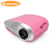 Multi-media Mini Portable Projectors LED Projection Micro Home Theater Projector HDMI VGA USB AV TV Entertain RD-802