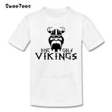 Vikings T Shirt Baby Cotton Kid Short Sleeve Round Neck Toddler Tshirt Children Infant Tee Shirt 2017 Funny T-shirt For Boy Girl(China)