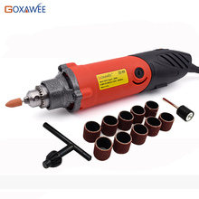 Variable Die Grinder Ceramic Metal Abrasive Tools Micro Electric Hand Drill Mini Engraver With Polishing Tool Electric Drill