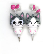 3.5mm Wired Cartoon Retractable Cute  Earphones Kid childen girls Earpiece Headset For Phones mp3 Tablet PC