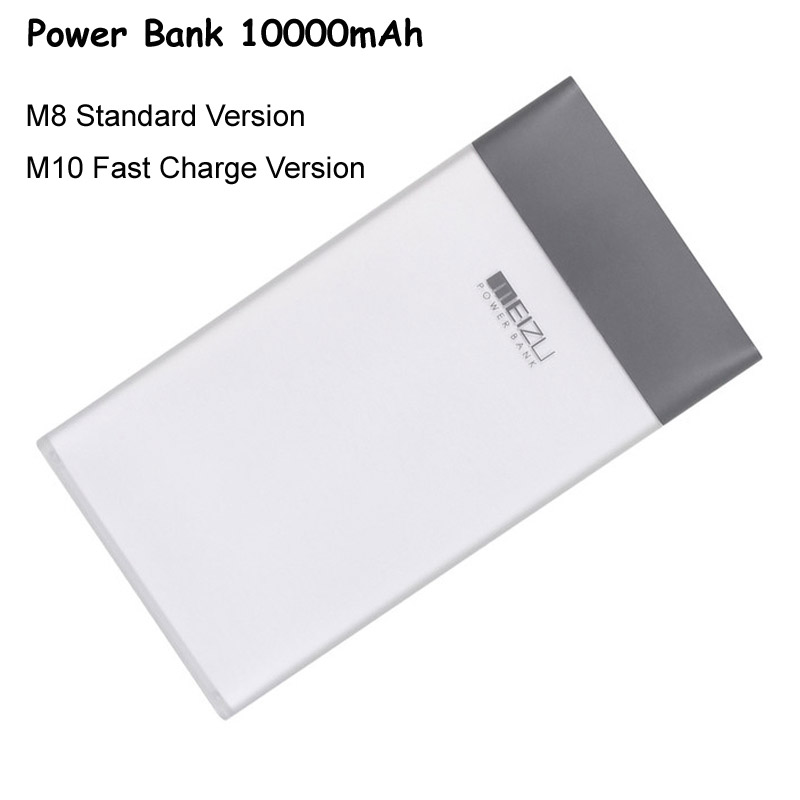 Original Power Bank Real Capacity 10000mAh Battery Pack for Meizu M10 M8 Fast Charge Powerbank 5V/2A 9V/2A for Meizu M10 M8<br><br>Aliexpress
