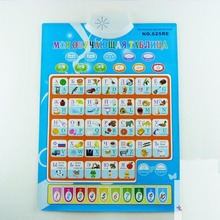 Russian English Learning Machine Electronic  Alphabet Music Toy Educational Phonetic Chart Early Language Sound Toy