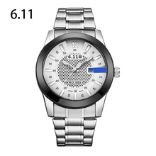 6.11 NEW brand solar Powered watches men with gift box luxury sports watches full steel wristwatch WGD003