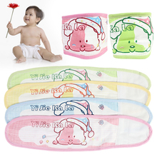 Soft and breathable 4 Colors Adjustable Natural Cotton Baby Belly Band Warmer Waistband Newborn(China)