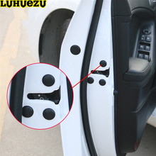 12PCS Car Door Lock Screw Protector Cover For Hyundai Tucson Elantra Creta IX25 Sonata Solaris Santafe  Accessories
