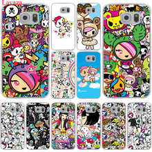 Japan Tokidoki Japanese Hard Transparent for Samsung Galaxy S6 S7 S8 Edge Plus S5 S4 S3 & Mini Case Cover