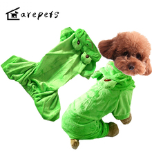 Dog Suits Cute Frog Cos-play Pet Coat Hottest Soft for Poodle,Pomeranian,Schnauzer