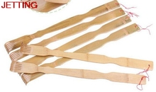 JETTING-1PCS Wooden Handy Back Care Massage Good Quality Bamboo Back Scratcher Massager(China)