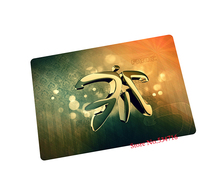 fnatic mouse pad Imports rubber gaming mouse pad laptop large mousepad gear notbook computer pad to mouse gamer brand play mats(China)