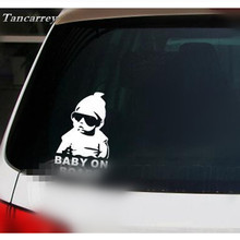 2017 Hot Selling Car-Styling Cartoon Car Stickers for volkswagen polo toyota corolla opel skoda rapid ford renault Car Sticker(China)