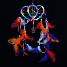 Handmade Rainbow Dream Catcher Dreamcatcher Door Hanging Home Decoration Bead Ornament Craft Gift Hot Sale