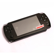 "High Quality Upgraded 4.3"" Touch Screen Ultra-thin 32Bit Handheld Games Consoles 3D Game Player 8GB HDMI Output PMP"