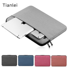 "2017 Newest Brand Tianlei Sleeve Case For Macbook Air Pro 10"",11"",13"",15"",Laptop Bag 14"",15.6"",For ipad Mini 7"", Free Shipping"