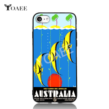 Queensland Fish Diving Australia Travel For iPhone 5s SE 6 6s 7 Plus Case TPU Phone Cases Cover Mobile Decor Gift