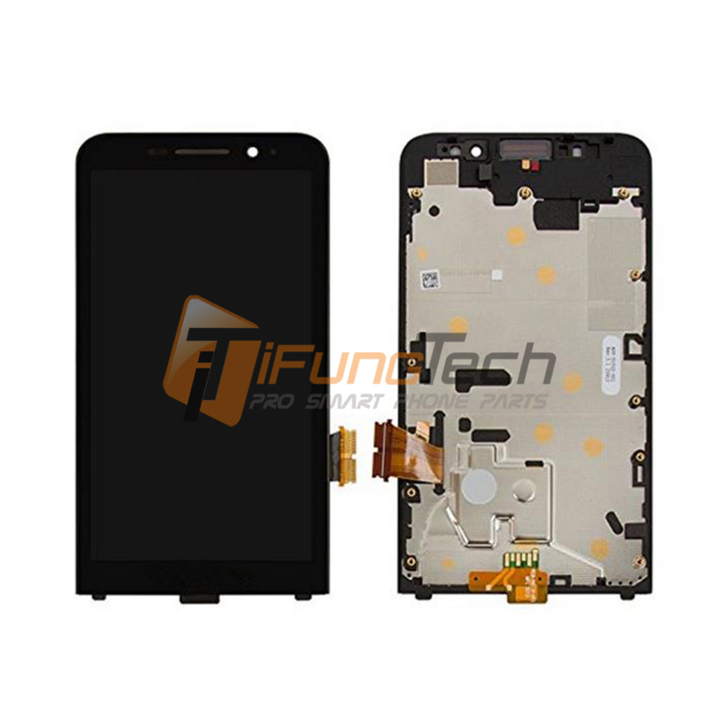 Free shipping Original For BlackBerry Z30 LCD screen Touch Screen Digitizer Assembly with frame -5pcs<br><br>Aliexpress