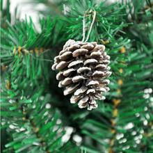 2016 New 9Pcs Christmas Tree Hanging Balls Pine Cones Party Decoration Wholesale
