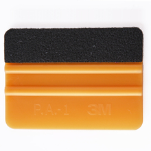 EHDIS Gold 3M Felt Squeegee Vinyl Cleaner Carbon Fiber Car Foil Vinyl Film Wrap Tool Window Tints Tools Car Cleaning Tool A02G
