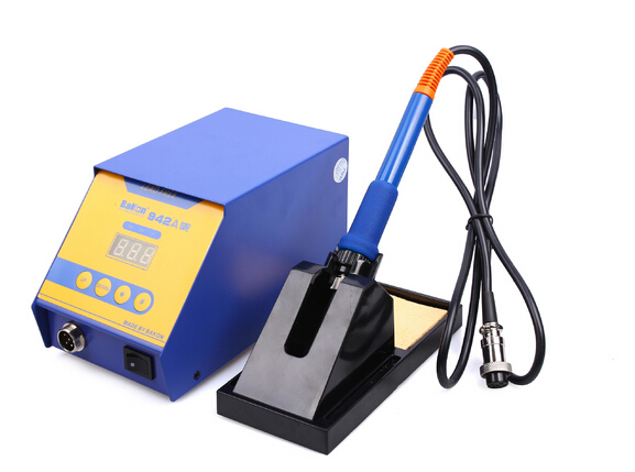 Welding repair tool,70/90WBK942A high quality unleaded constant temperature soldering station,electric soldering iron<br><br>Aliexpress