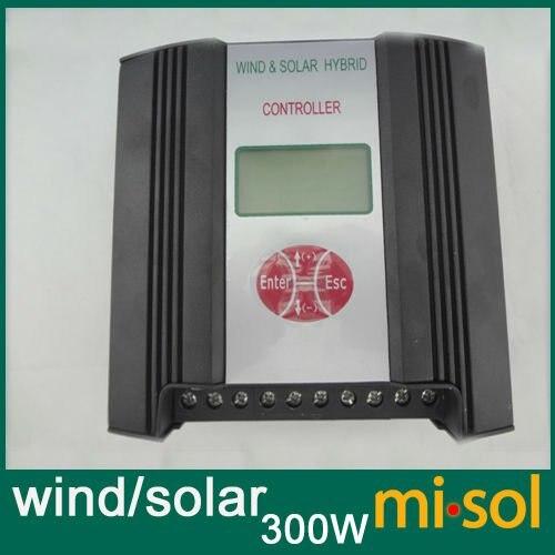 Hybrid Wind Solar Charge Controller 300W Regulator, 12V, wind charge controller<br><br>Aliexpress