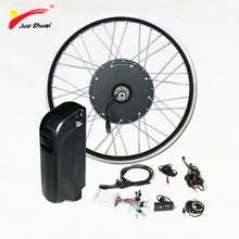 "New Arrival 26"" 700C rear Motor powerful 1000w electric bike conversion kit 48v 10ah lithium battery electric bicycle kit(China)"