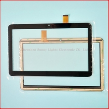 Free Shipping Capacitive touch panel Digitizer Sensor Replacement For Grace BQ 1008G Touch Screen 10.1 inch Multitouch Panel PC(China)