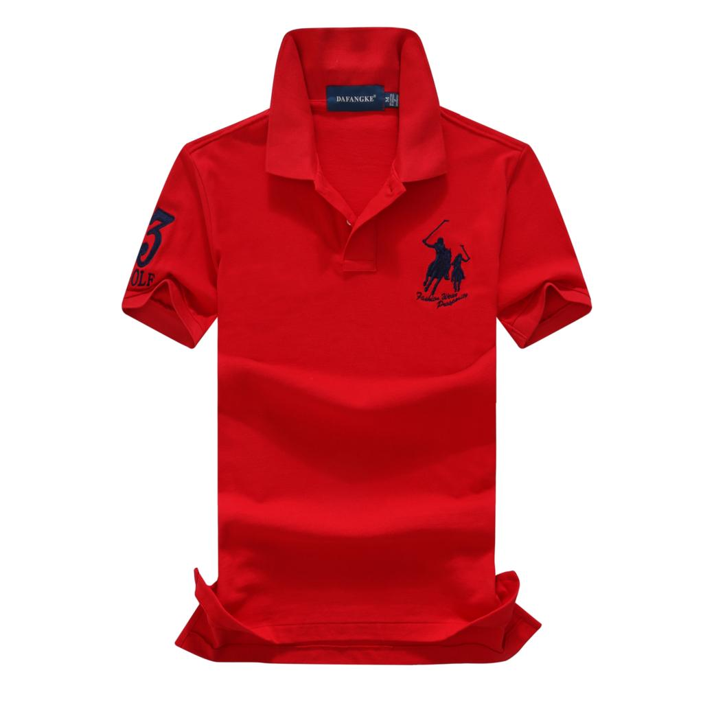 On sale 16 Colors 2019 summer 100% mesh cotton Big horse mens short sleeve polos mens shirts tops No.3 embroidery logo 9