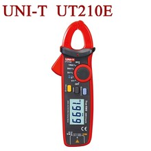 Mini Digital Clamp Meter UNI-T UT210E Ture RMS Auto Range 2000 Count LCD Display Multimeters Megohmmeter(China)